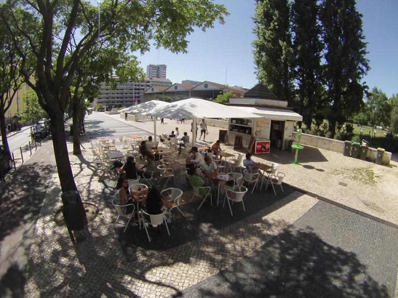 Quiosque do Bairro - Arco do Cego - Bar biere pas chere - Lisbonne