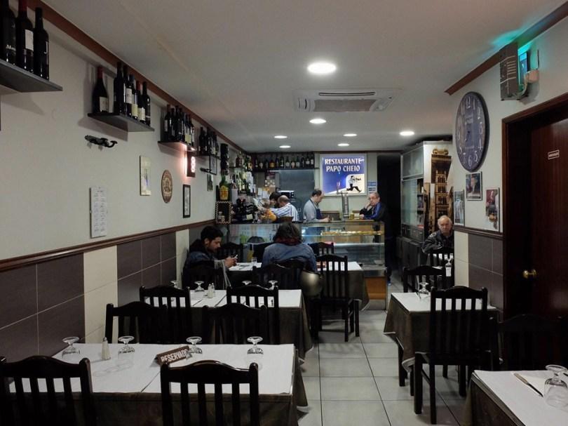 Restaurant Papo Cheio - Bistrot Traditionnel - Lisbonne