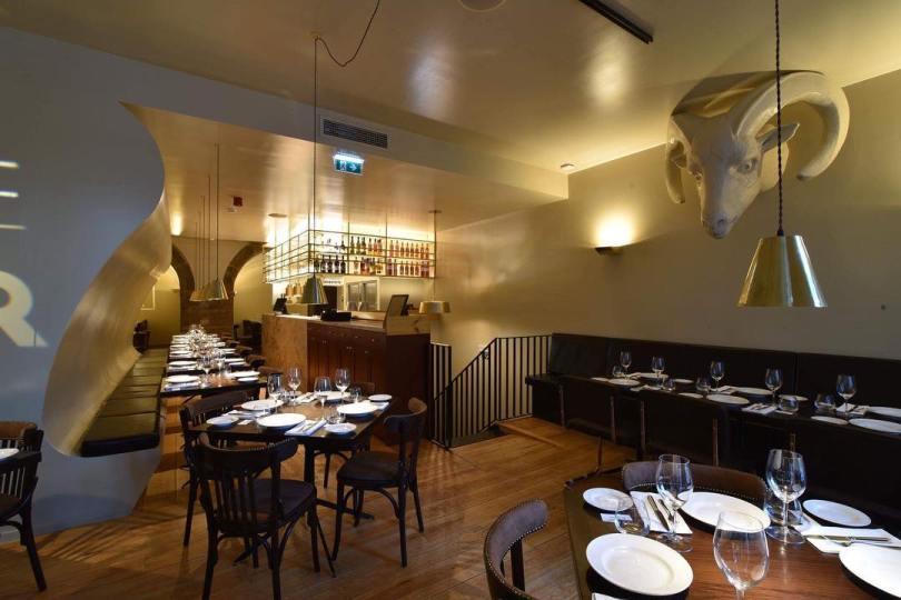 Salle du restaurante 100 Maneiras - Lisbonne