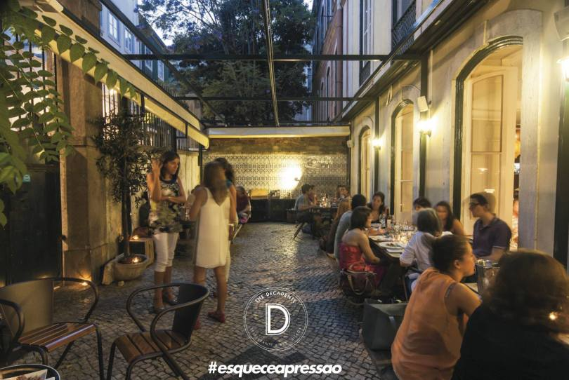 The Decadente Restaurant et Bar - Lisbonne