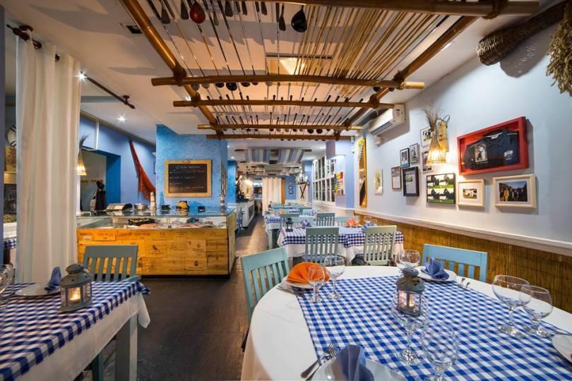 Clube do Peixe - Restaurant de poissons et crustaces - Lisbonne - Campo Pequeno