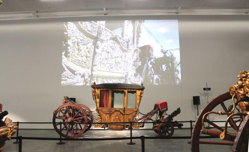 Carrosse Royal au Musee National des Carrosses - Museu Nacional dos Coches - Lisbonne - Lisboa