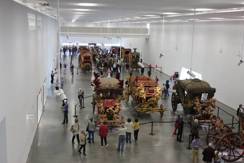 Salle Exposition du Musee National des Carrosses - Museu Nacional dos Coches - Lisbonne - Lisboa