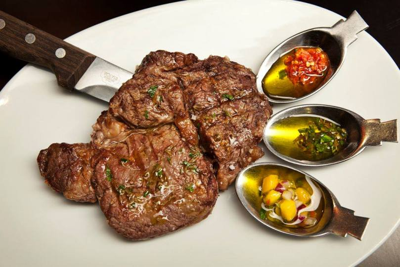 Viande au Volver de Carne y Alma - restaurant portugais et argentin - Lisbonne