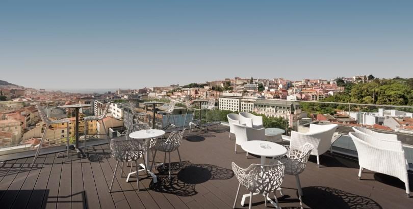 Atico Bar - Rooftop NH Liberdade - Hotel Lisbonne