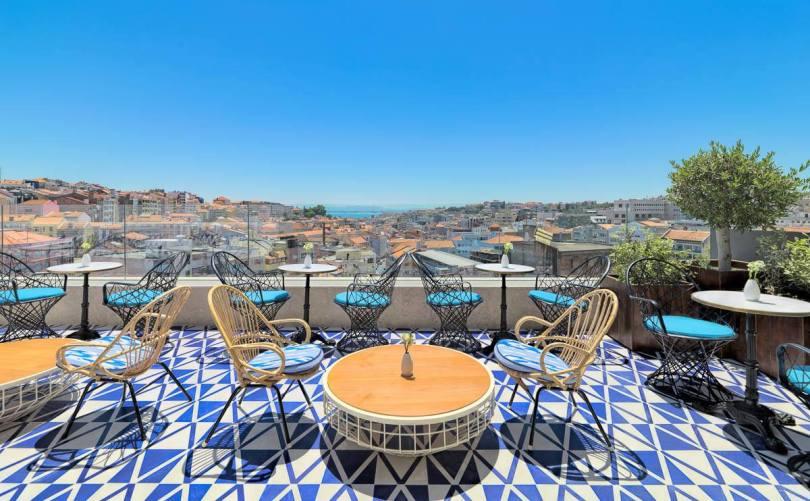 Bar Terraço Limao - Rooftop du H10 Duque de Loule - Hotel - Lisbonne