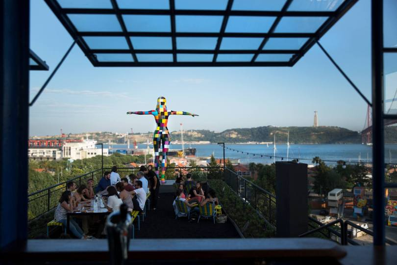 Rio Maravilha - Terrasse Bar Restaurant - LX Factory - Lisbonne
