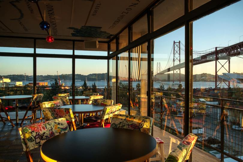 Salle Vitree Rio Maravilha - Lx Factory - Bar Restaurant - Lisbonne