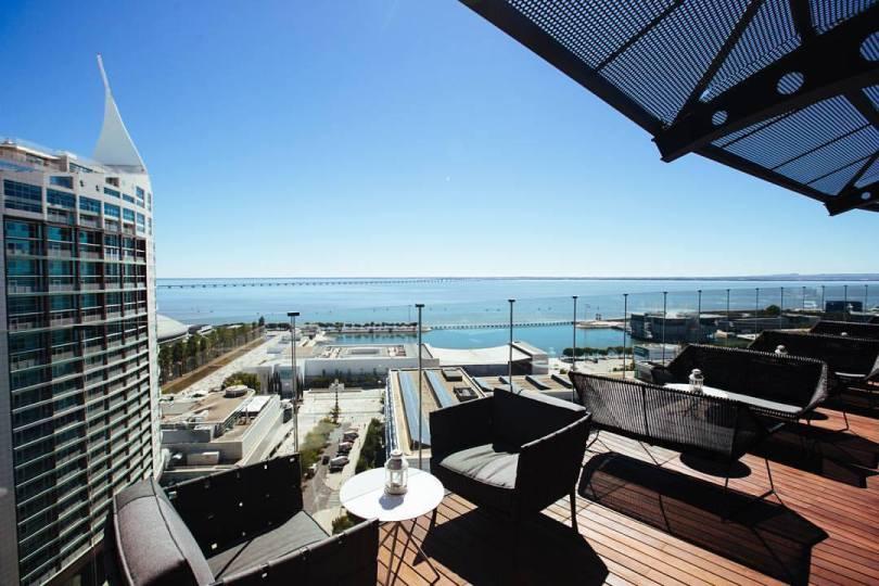 Terrasse Rooftop - Tivoli Oriente - Lisbonne