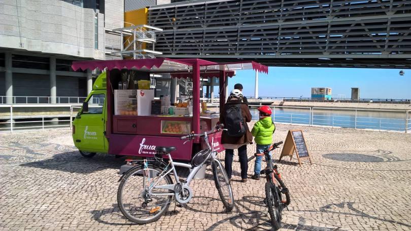 Frua - food truck fruits - street food - lisbonne