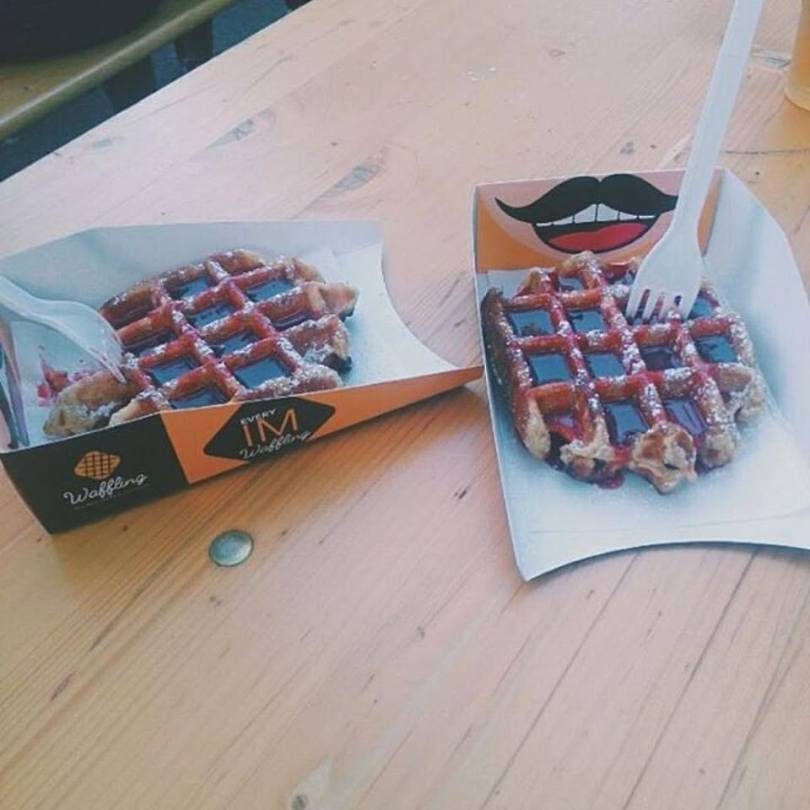 Gaufres belges de Waffling - Foodtruck - Streetfood - Lisbonne