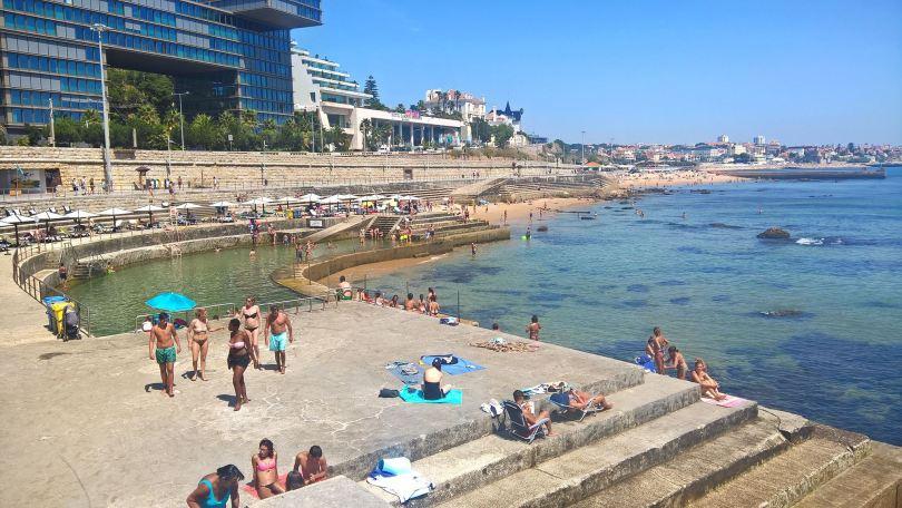 Piscine Oceanique Alberto Romano - Piscine gratuite - Cascais - Lisbonne