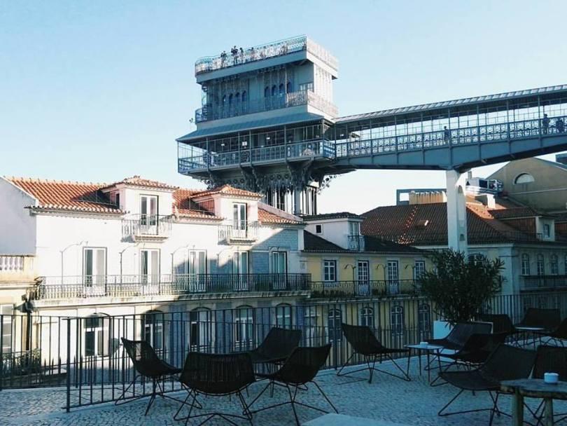 Topo Chiado - Bar Rooftop - Lisbonne