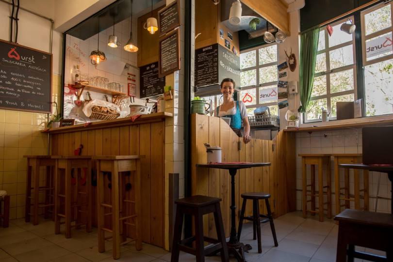 Wurst - Saucisses Autrichiennes - Street Food - Lisbonne