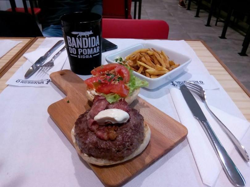 Burger chez O Reserva - Restaurant Sports Bar - Lisbonne