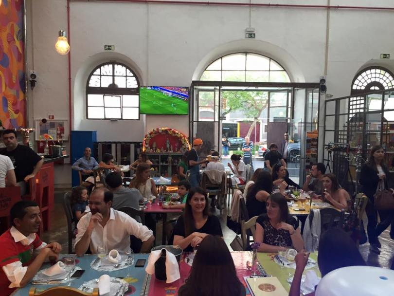 El Bulo Social Club - Restaurant et bar argentin avec ecran - Lisbonne