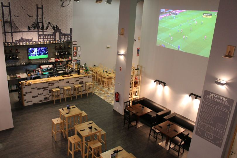 Lisbon Burguer House & Pizza - Sports Bar - Lisbonne