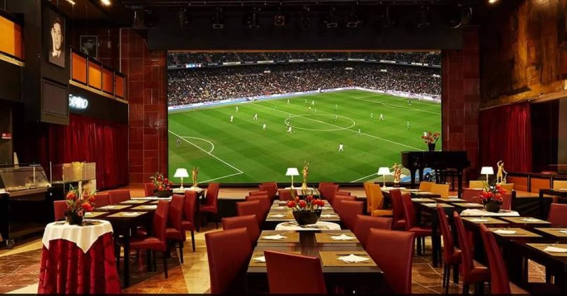 Salle Principale Cafe Imperio - Sports Bar - Lisbonne