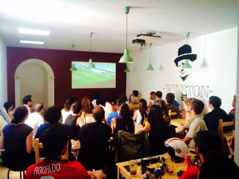 Winston Bar - Sports Bar - Match de foot - Lisbonne