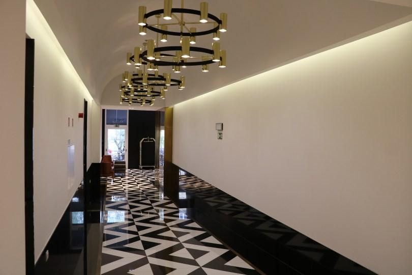 Couloir vers reception - The Lumiares Hotel Spa - Lisbonne