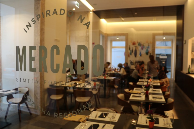 Entree restaurant Mercado - The Lumiares Hotel - Lisbonne