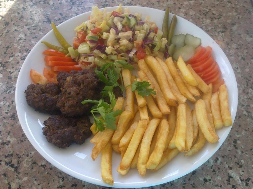 Assiette Kebab chez Ali Baba Kebab Haus - Lisbonne
