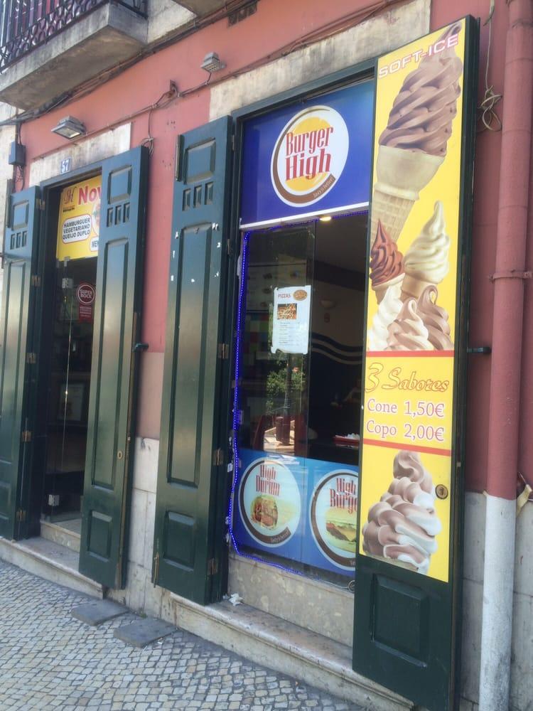 Burger High - Kebab et Sandwichs - Bairro Alto - Principe Real - Lisbonne - Photo @Zomato