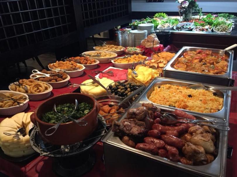Buffet accompagnement rodizio - Restaurant Prazeres da Picanha - Lisbonne