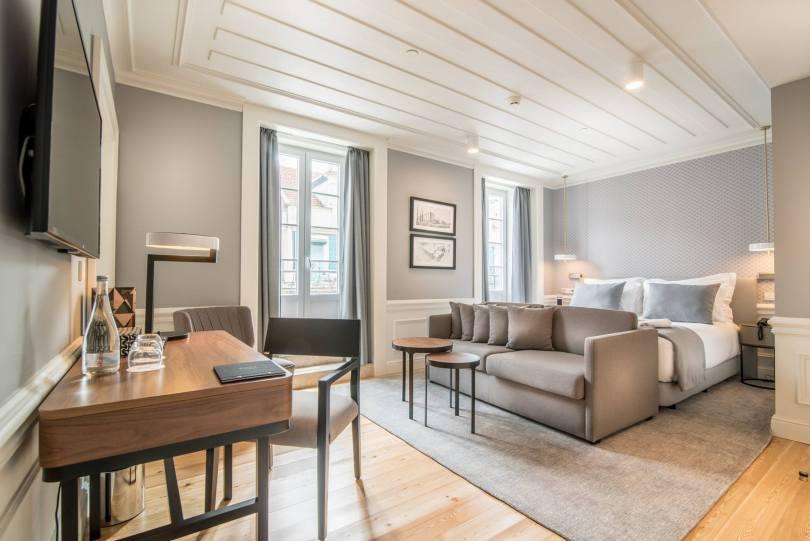 Chambre Premium City View - Hotel da Baixa - 4 etoiles - Lisbonne