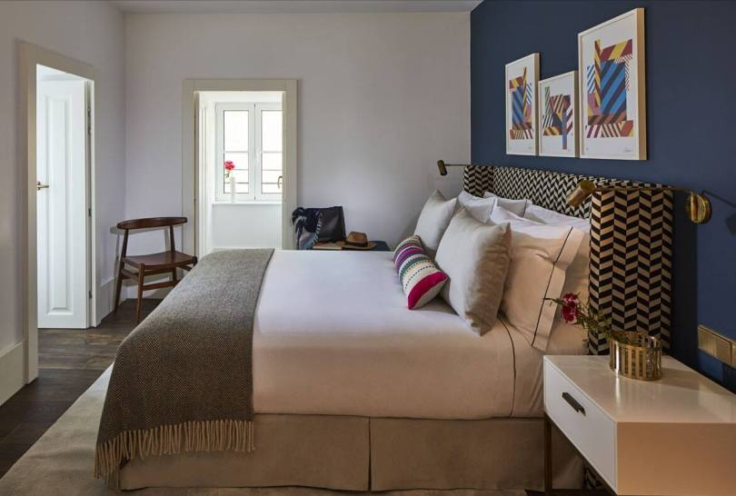 Chambre du Lumiares Hotel Spa - Hotel 5 etoiles - Lisbonne