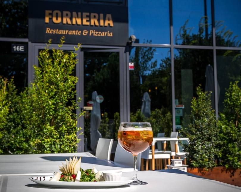 Devanture pizzeria Forneria - Lisbonne