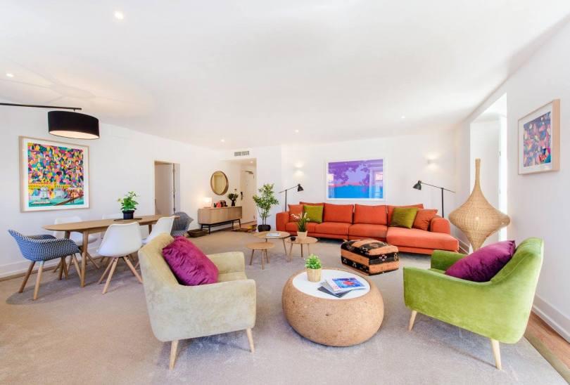 Grand salon - Suite Martinhal Chiado Family Suites - Hotel Lisbonne