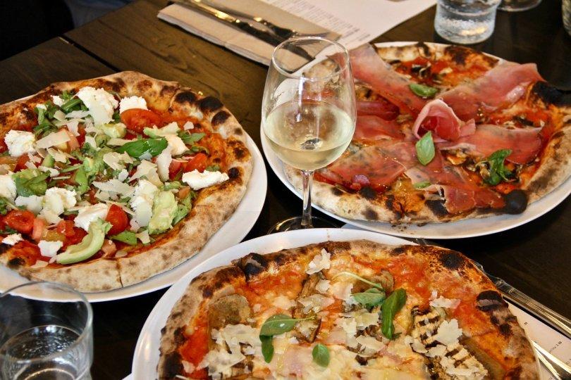 Pizzas de chez Valdo Gatti - Lisbonne