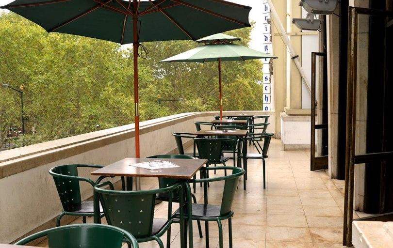 Terrasse Pizzas Baldracca - Avenida Liberdade - Lisbonne