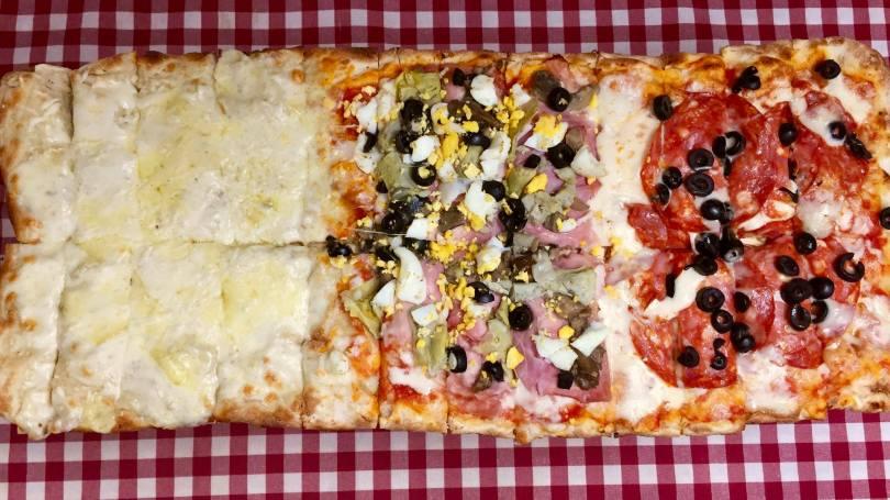 Une pizza de 50cm de chez Sora Lella - Pizzeria Lisbonne