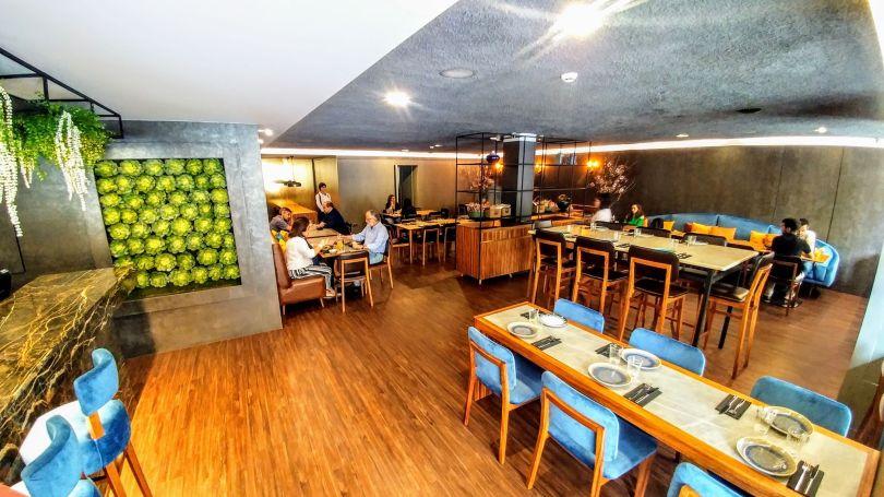 Salle du restaurant Clube Lisboeta - Lisbonne