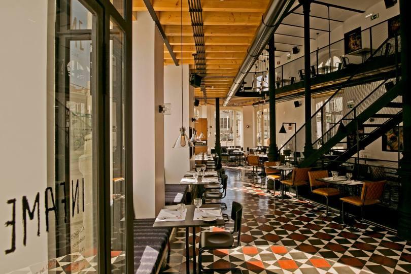 Salle principale du restaurant Infame - 1908 Lisboa Hotel - Lisbonne