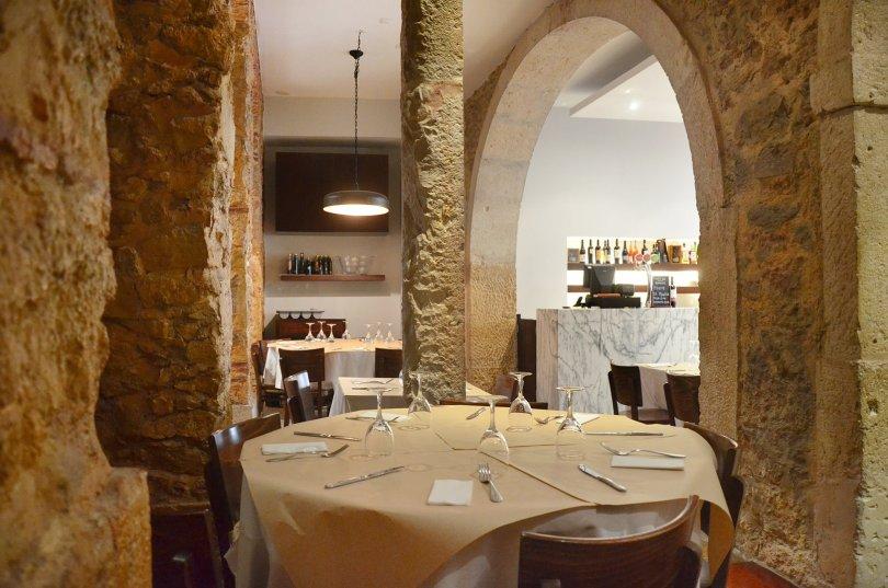 Petite salle du S Restaurante de Ilda Vinagre - Lisbonne