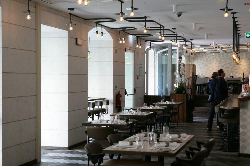 Salle principale du restaurant Porter - Hotel Corpo Santo - Lisbonne