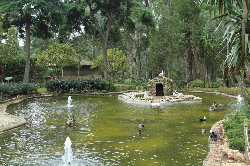 Lac du parc Marechal Carmona - Cascais - Lisbonne