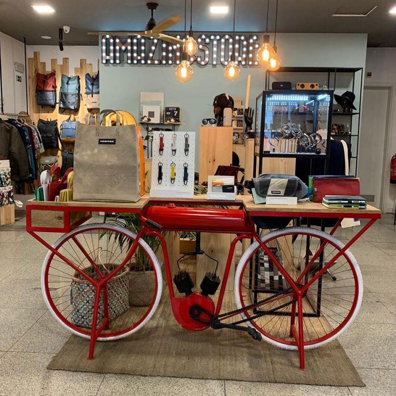 Boutique Amazingstore de Lisbonne - Produits durables et recyclables