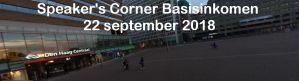 Speaker's Corner Basisinkomen in Den Haag @ Centraal station