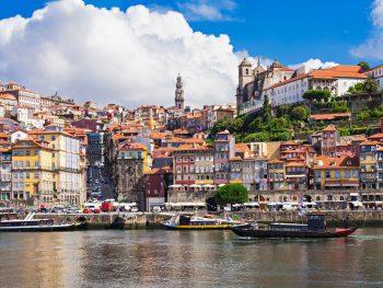 Porto_Portugal_cityscape from water