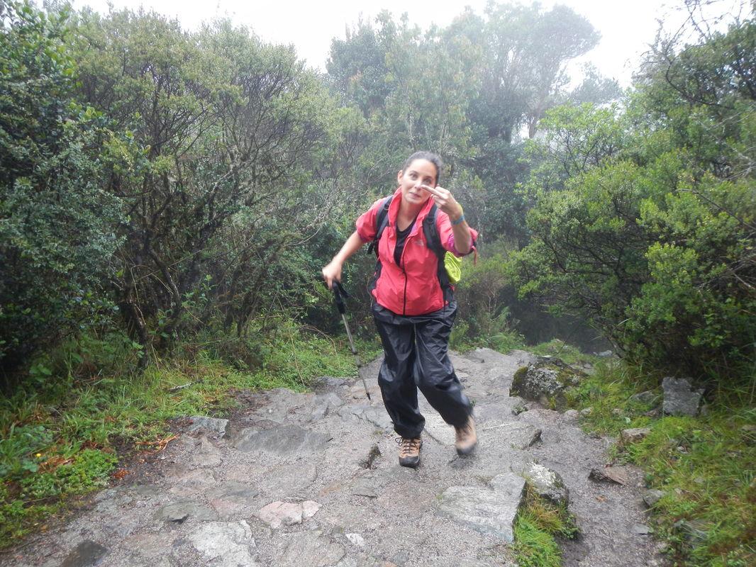 Inca Trail Hike Machu Picchu Peru