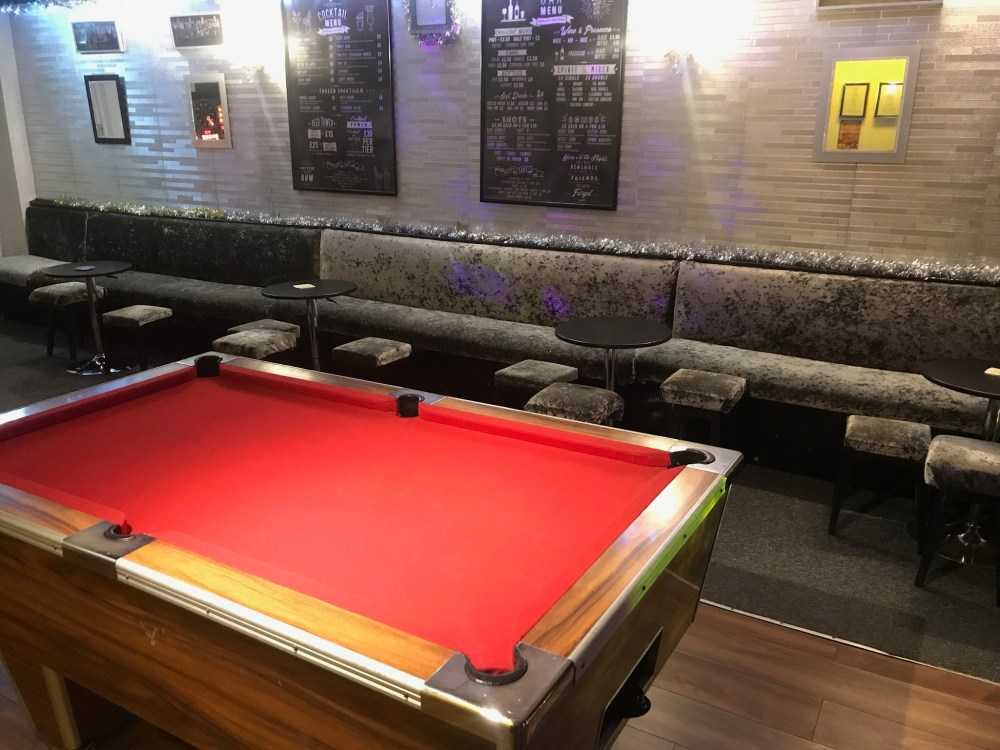 Weekend Blackpool Black Group Hotel Bar Area 1