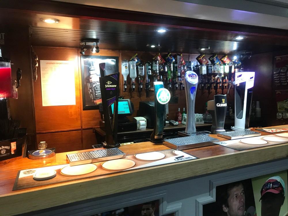 Weekend Blackpool Tangerine Group Hotel Bar