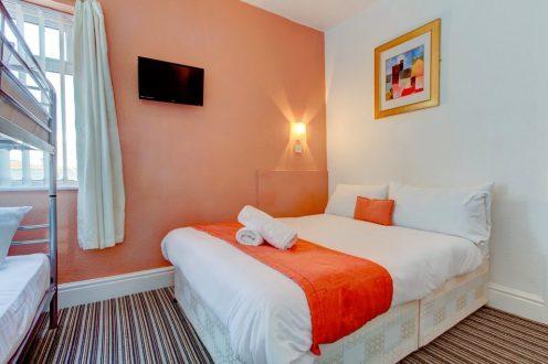 Weekend Blackpool Tangerine Group Hotel Room 1