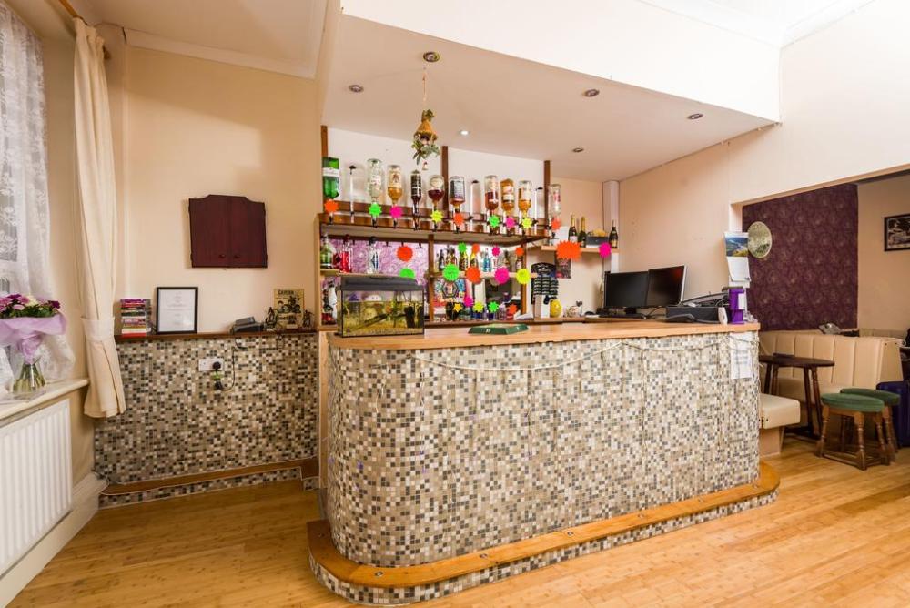 Weekend Blackpool Orange Group Hotel Bar Area