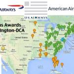 Us Airways Flights Using British Airways Avios Out Of Washington D C Dca Weekend Blitz