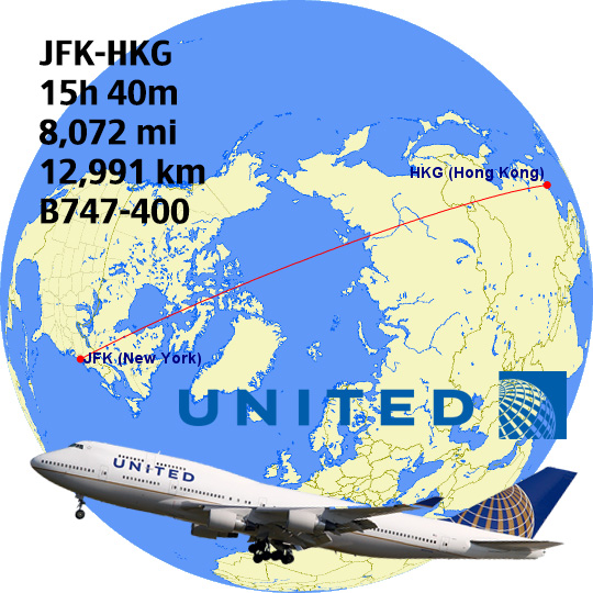Flight hours from san francisco to new york
